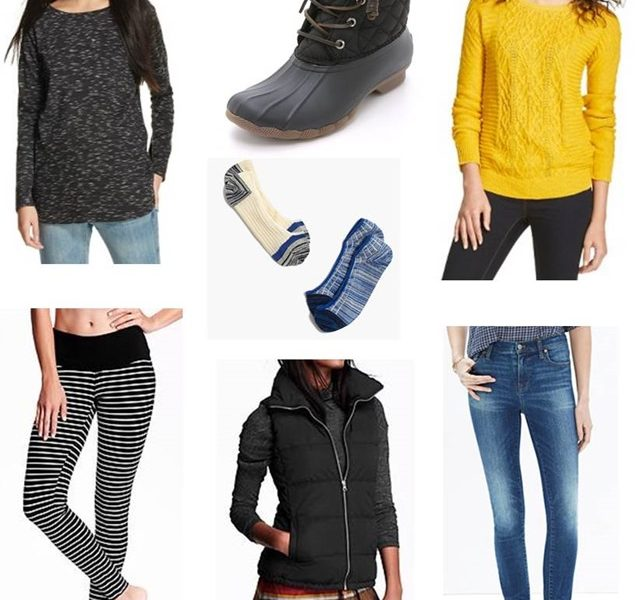November 2015 Clothing Budget