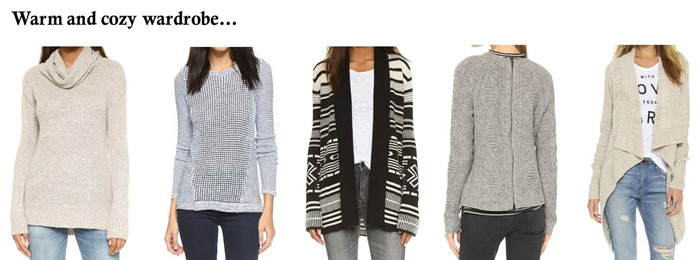 shopbop sale warm and cozy sweaters
