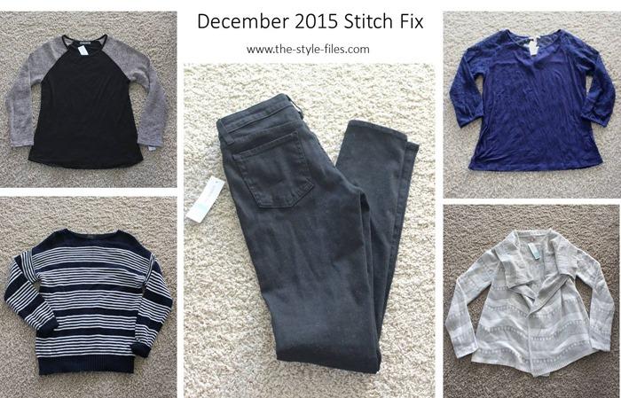 December 2015 Stitch Fix