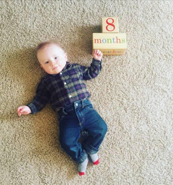 bryce 8 months