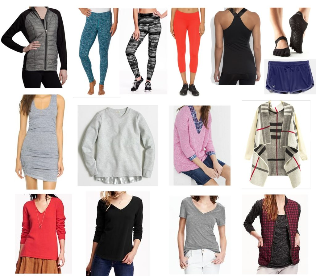 december 2015 clothing budget