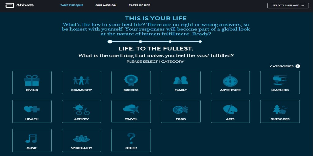 life to the fullest quiz