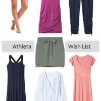 athleta wish list