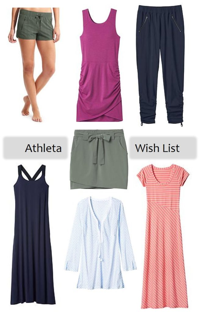athleta wish list