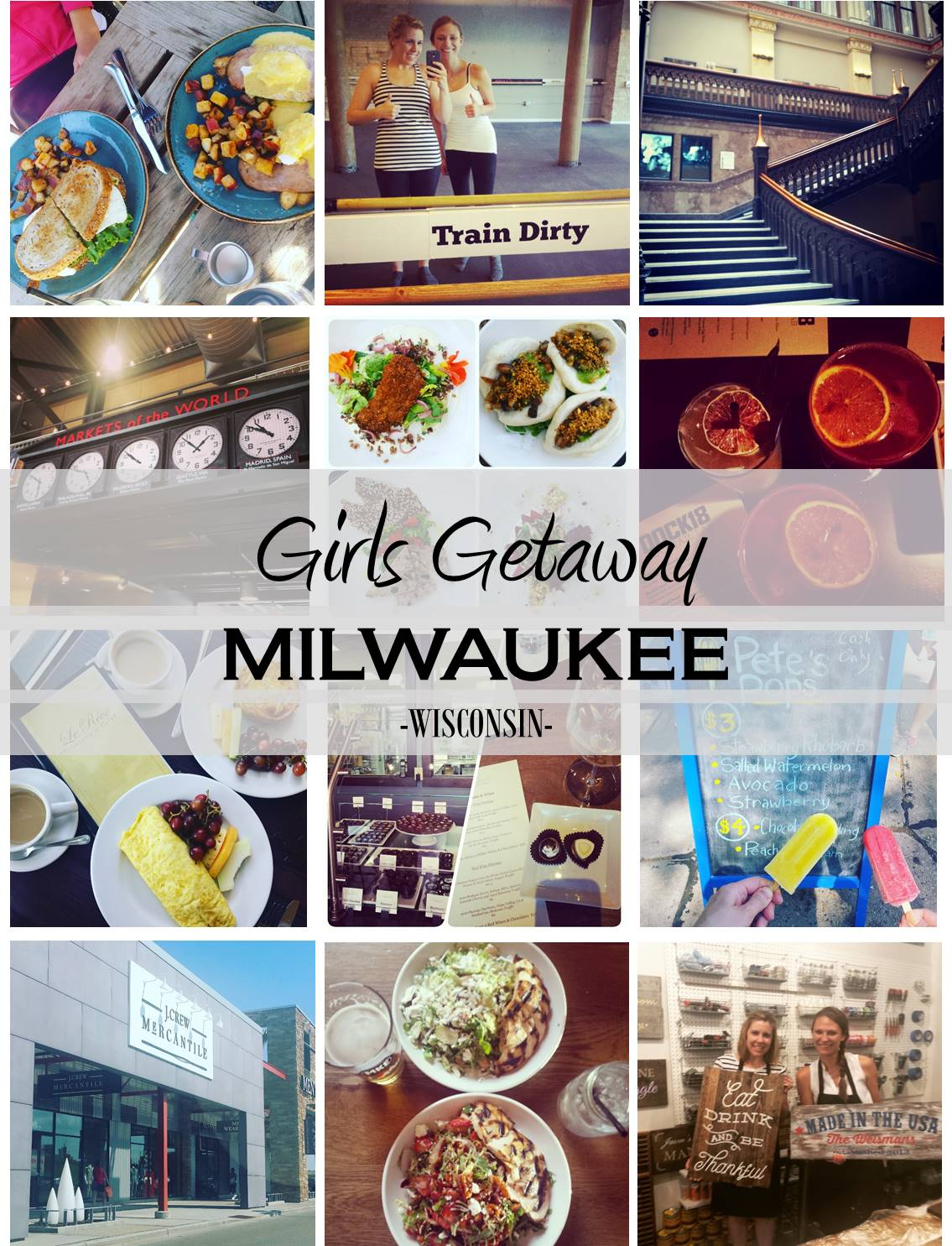 Girls Getaway Milwaukee Wisconsin #visitmke