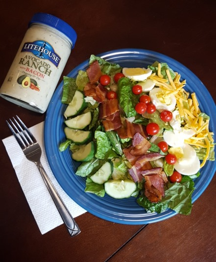 Killer Cobb Salad // Litehouse Giveaway