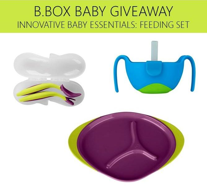 Win it Wednesday: B.Box Baby Giveaway