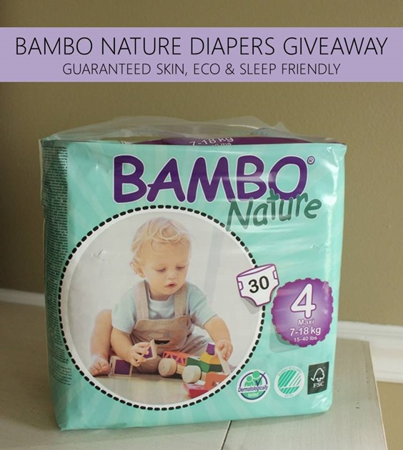 bambo nature diapers giveaway