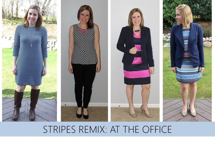 stripes remix at the office