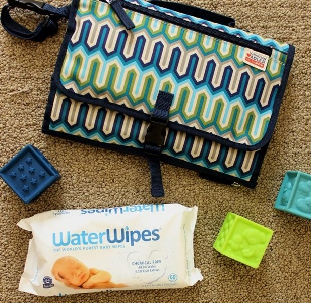 Diaper Change Essentials for Toddlers // WaterWipes Giveaway