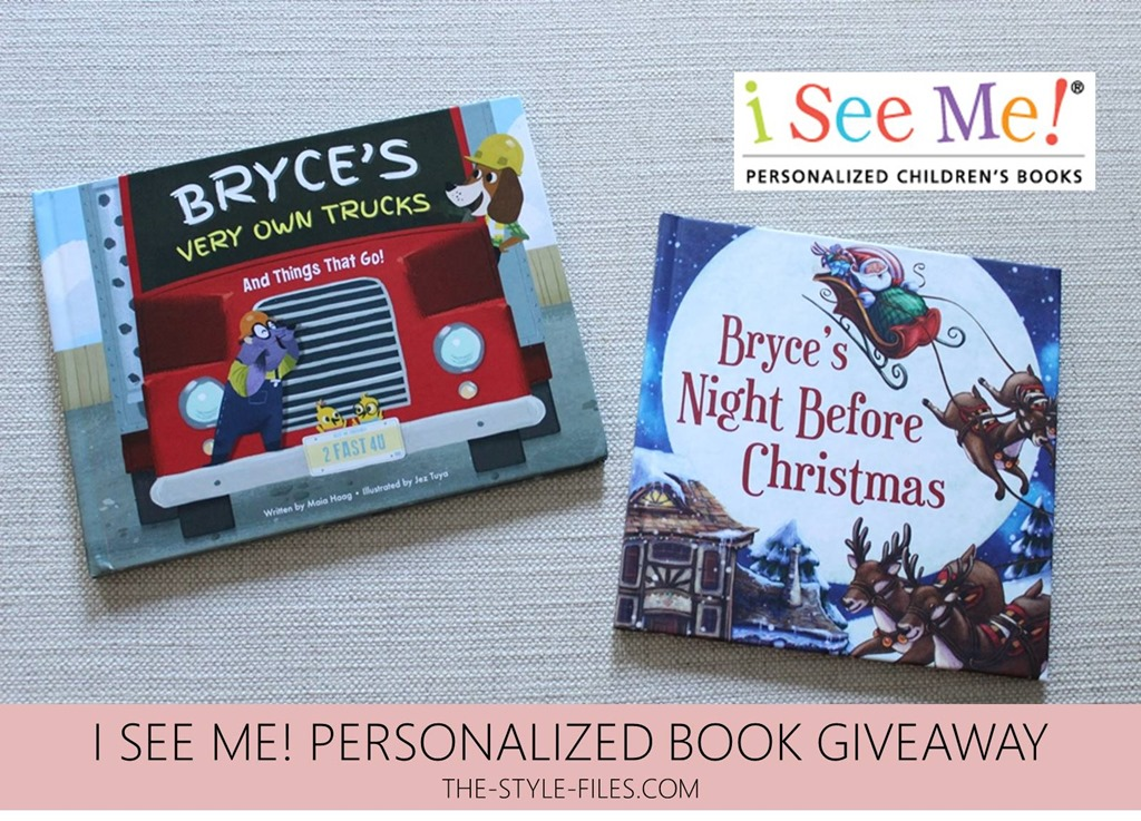 win it wednesday i see me personalized books giveaway the style files