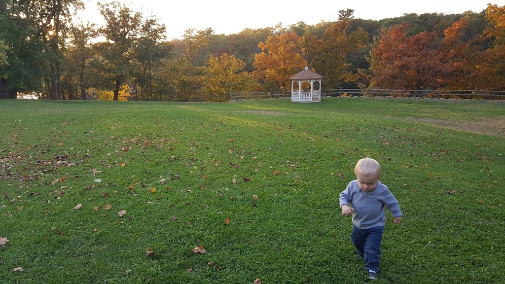 Wisconsin Dells // Fall Fun {with a Toddler}
