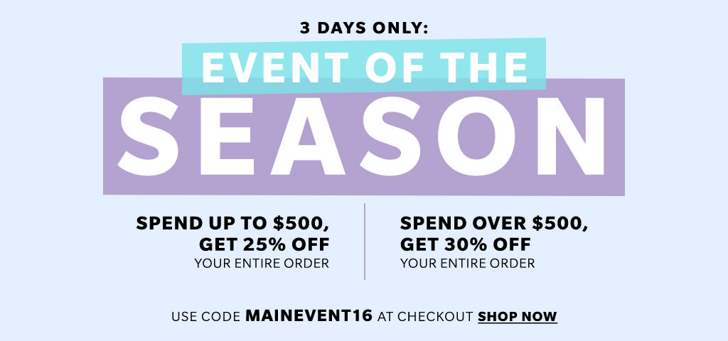 shopbop-fall-2016-sale-promo-code