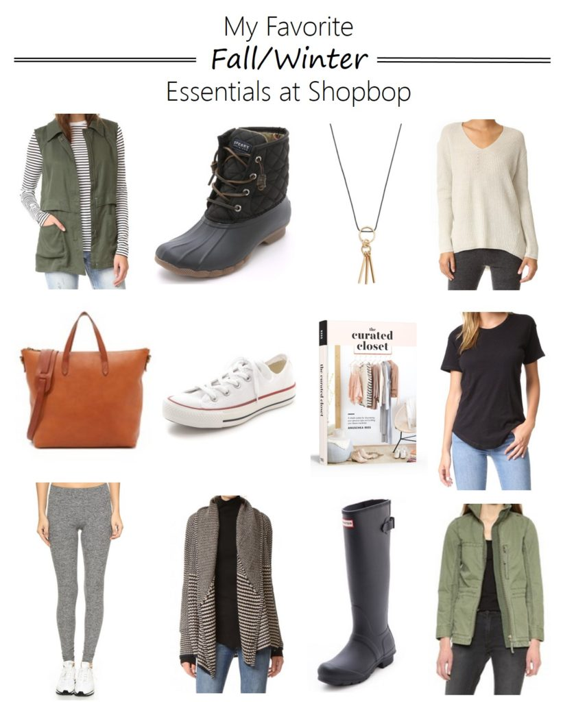 favorite fall winter essentials at shopbop, sale, mom style
