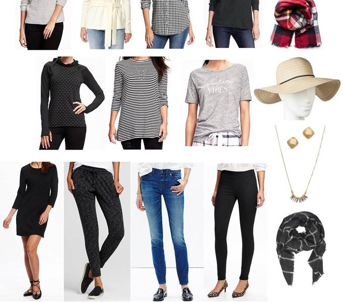 November 2016 Clothing Budget