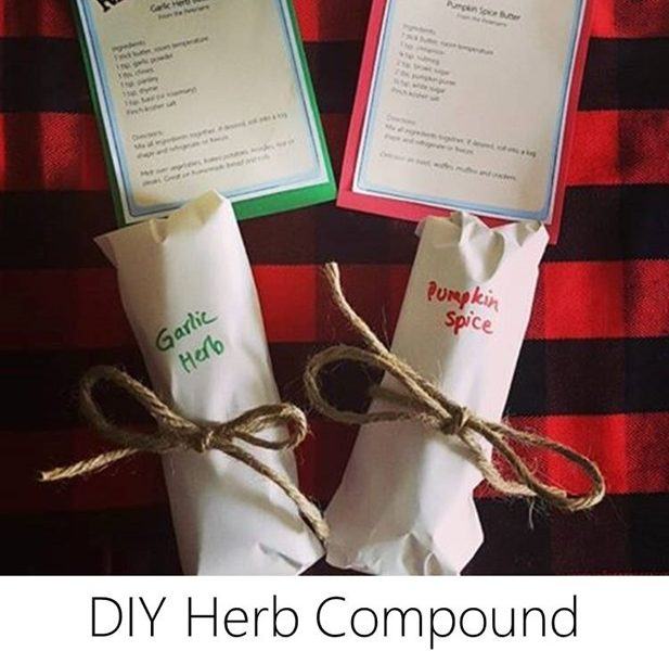 Holiday Gift Idea // DIY Herb Compound Butter