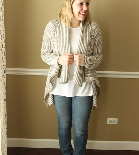 Mom Style #41 // Cozy Cardigans and Swing Tees