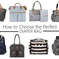 how to choose the perfect diaper bag, giveaway