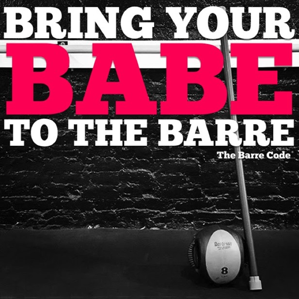 bring your babe to the barre, feb