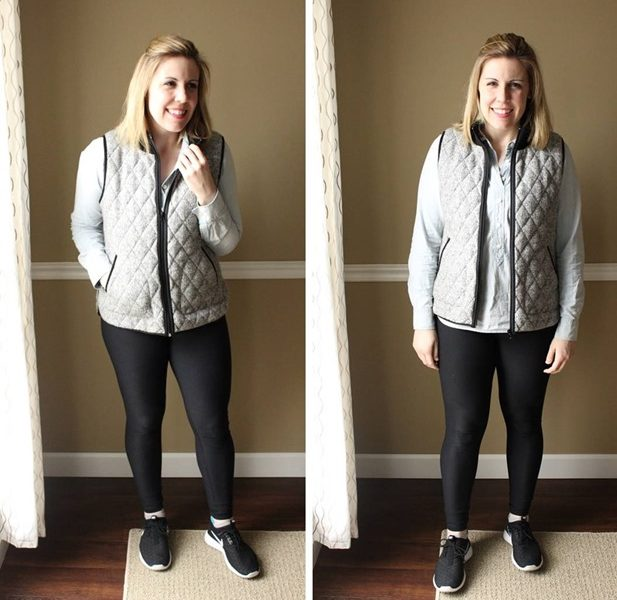 My Minimalism Style, Athleisure Edition: Elevating a Leggings Outfit