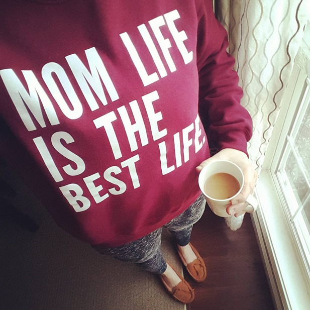 mom life is the best life, coffee