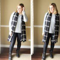 minimalismstylegraysweaterblackplaidscarfleggingsduckbooties_thumb.jpg