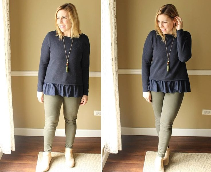 Minimalism Style: Navy and Olive