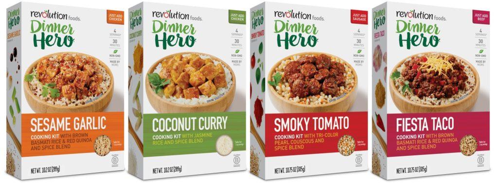 dinner hero varieties