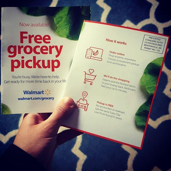 walmart grocery pickup code