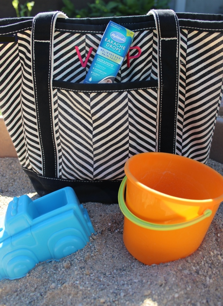 whats in my toddler beach bag