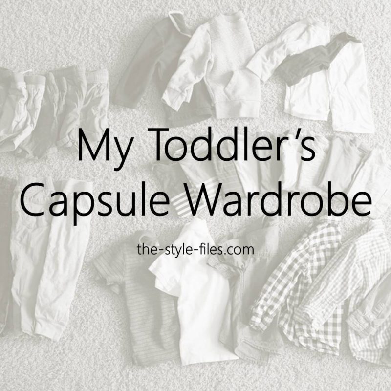 my toddlers capsule wardrobe