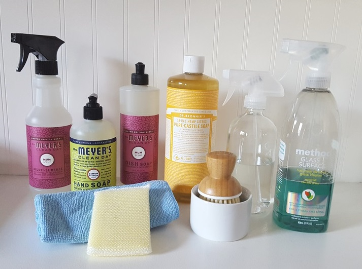 favorite household cleaning products, minimalism
