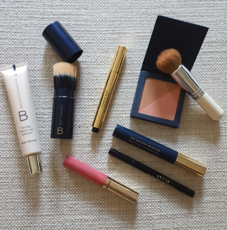 favorite makeup products, minimalism, beautycounter
