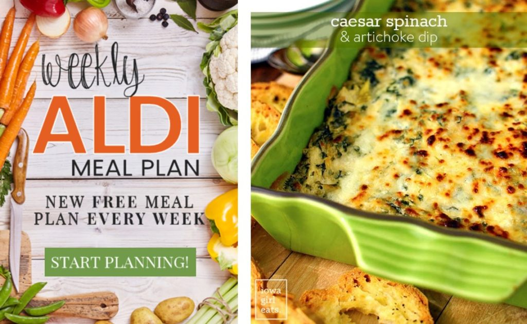 aldi meal plan iowa girl eats dip