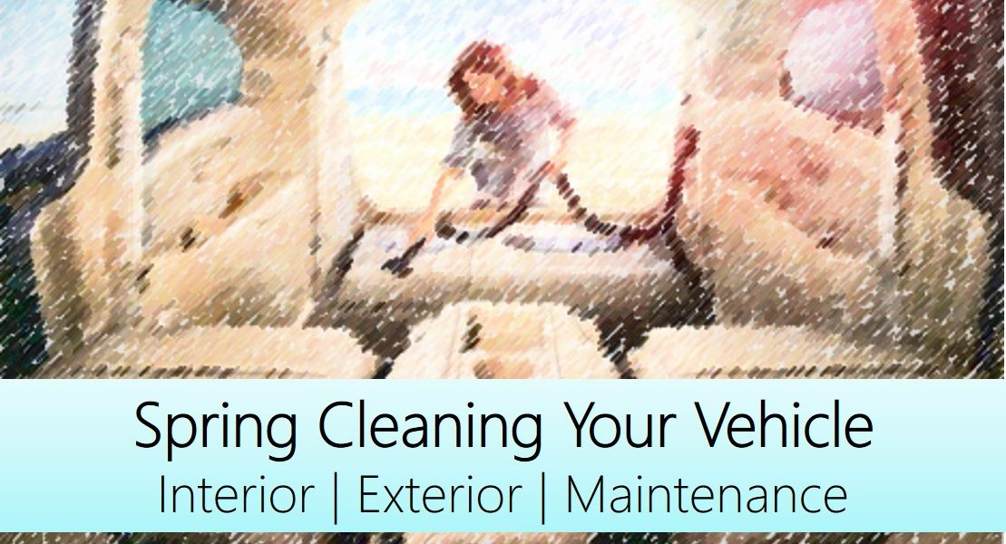 This Mama's Vehicle Spring Cleaning Checklist