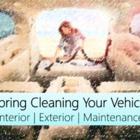 spring cleaning your vehicle