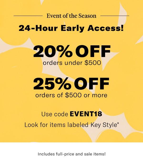 shopbop spring april 2018 sale